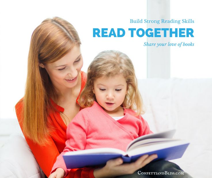Parenting and Children: Spend time reading together. Help your child build strong reading skills. Share your love of books.