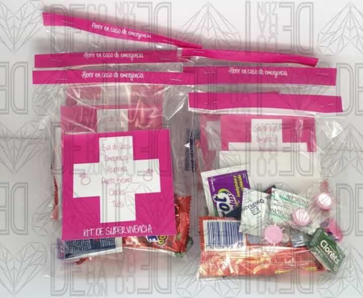 Las 25 mejores ideas sobre kits de supervivencia de boda - Kit bano boda ...