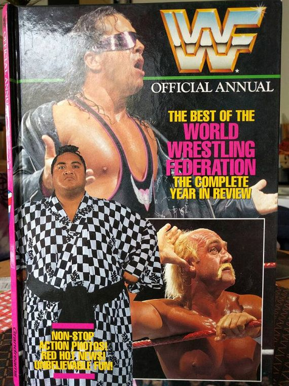 Check out this item in my Etsy shop https://www.etsy.com/uk/listing/285826065/retro-wwf-wwe-official-annual-1992-bret