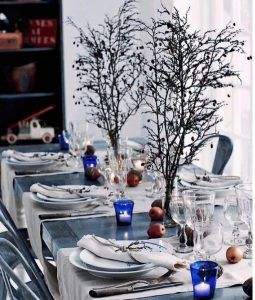 Modern Ways & Holiday decorations for Christmas mple-trapezi