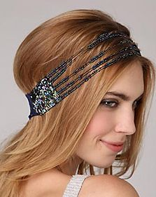Deal of the Week – Lace Stranded Beaded Headband