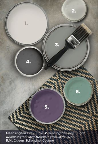 The contemporary neutrals capture inspiration from urban living. The allure of these colours comes from their distinctive understated tone, giving them an edge while retaining certain warmth.
