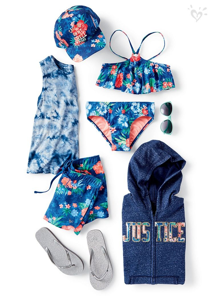 This season's must-haves: styles that go from play to swim.