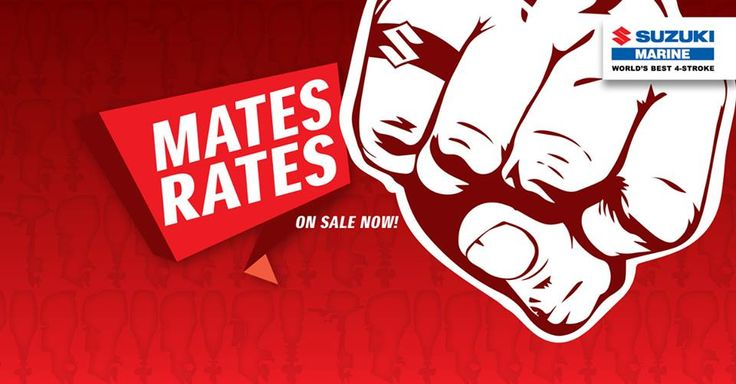 Suzuki's latest Mates Rates promo gives good discounts off outboards ranging from 15 to 115 hp. I would say $1000- off a DF115 is a GREAT DEAL!! If you are in the market for a new outboard give us a call 09 299 8333. This offer lasts until the 30/9/15.