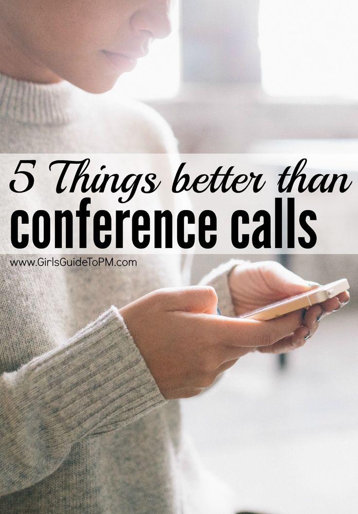 Conference calls can be boring and unproductive. Here are 5 alternatives to solve the problem of how to meet without relying on your conference call provider.