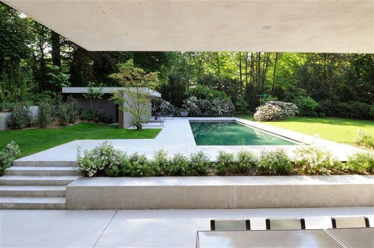 Dusche Im Freien Selber Bauen : modern pool garden www.bsw-Web.de # ...