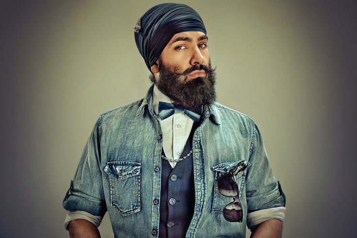 11 Super Stylish Photos That Prove Sikh Men Rock The Best Beards - Curated by Sikhpoint.com #sikhpoint
