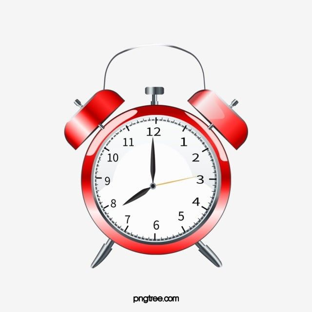 Small Red Alarm Clock Clock Clipart Red Small Png Transparent Clipart Image And Psd File For Free Download Clock Clipart Clock Painting Clock