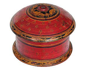 Scatola in legno di cedro rosso - 17x17x14 cm