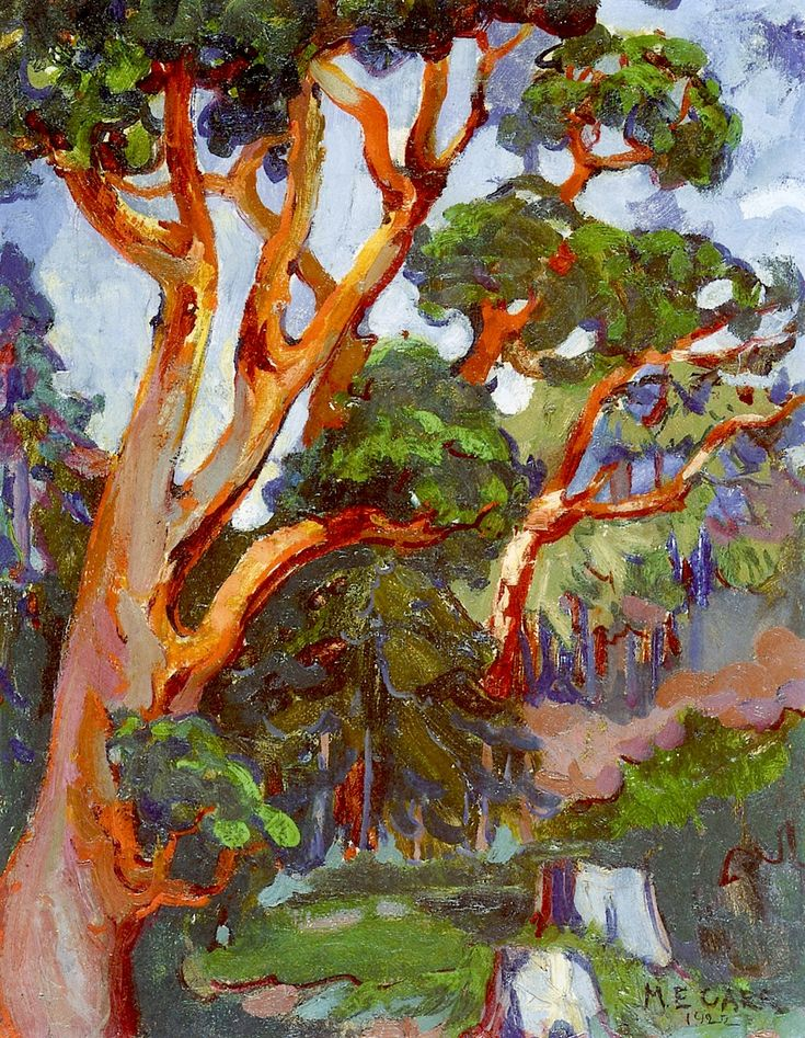 Arbutus Tree (oil on canvas) 1922, Emily Carr