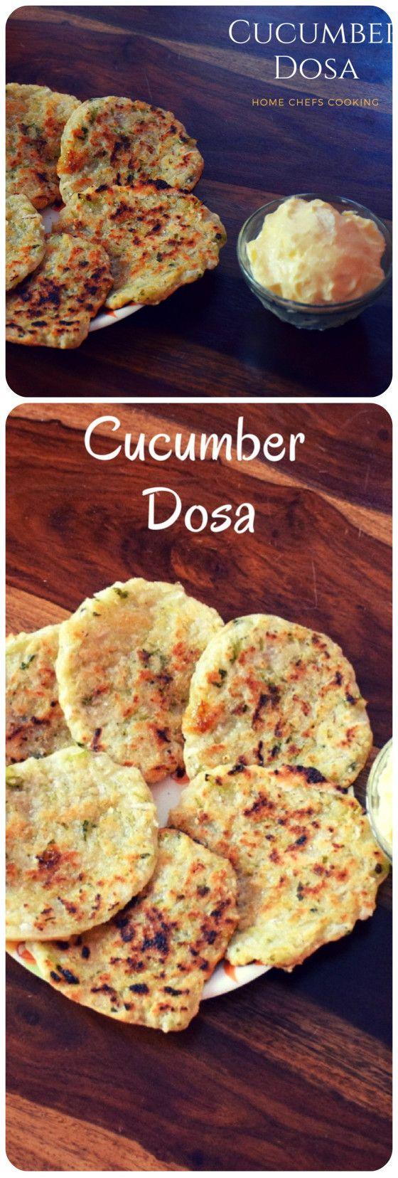Cucumber Dosa | Taushe bhakri recipe  #HealthyBreakfastRecipe #NoFermentationDosa