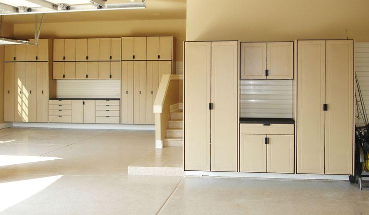 Wooden Storage Cabinets For Garage
