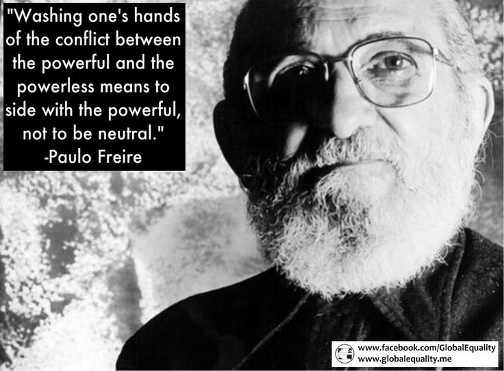 Quote from Paulo Freire