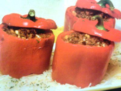 Receitas - Pimentos recheados - Petiscos.com