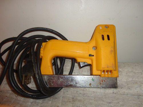 Arrow Electric Staple Gun Tacker tool #ETF50P works find me at www.dandeepop.com