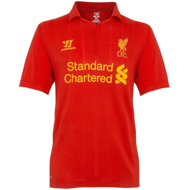 Men's 2012/13 Liverpool Home Soccer Jersey