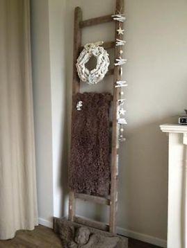 ≥ Mooie oude houten ladders - Woonaccessoires | Overige - Marktplaats.nl