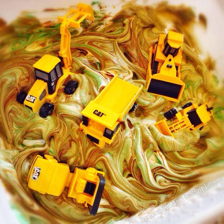 Swirly Splashy Muddy Machines Fun
