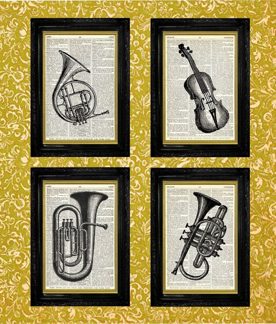 25+ best Eclectic prints on vintage book pages.... images ...