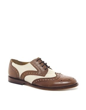 ASOS Brogues With Leather Sole