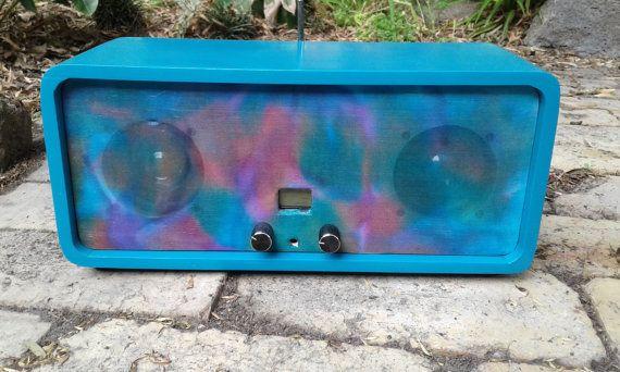 Price Drop FM Stereo Radio Retro look hand built