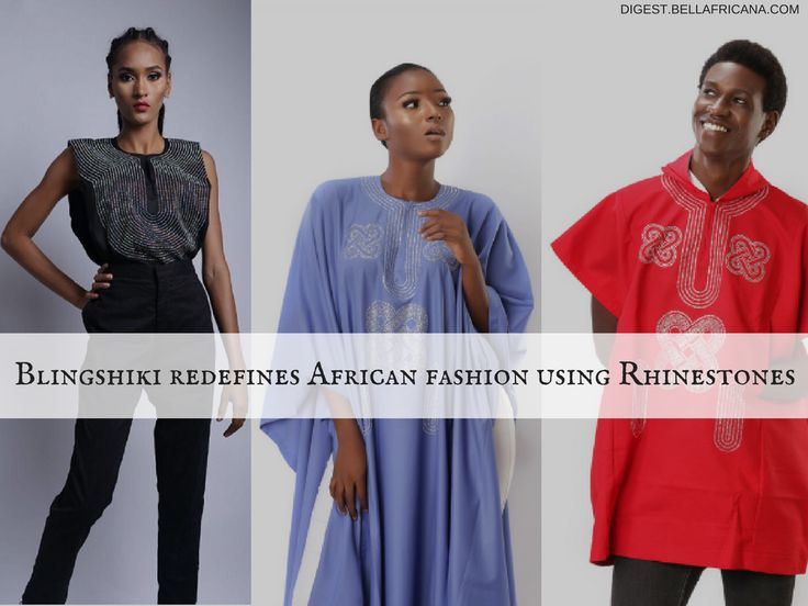 Blingshiki redefines African fashion as written by Bellafricana