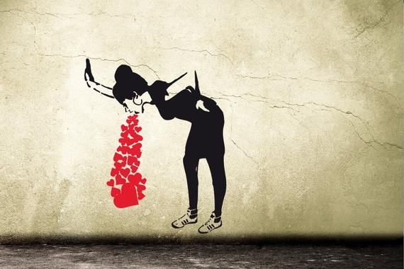"Banksy 24/""x36/"" Canvas Print Urban Graffiti Washing Zebra"