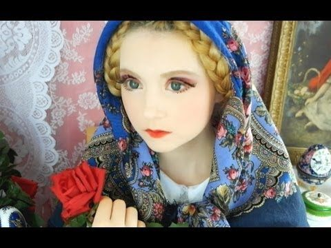 ▶ How To: Russian Doll MATRYOSHKA Make Up – YouTube