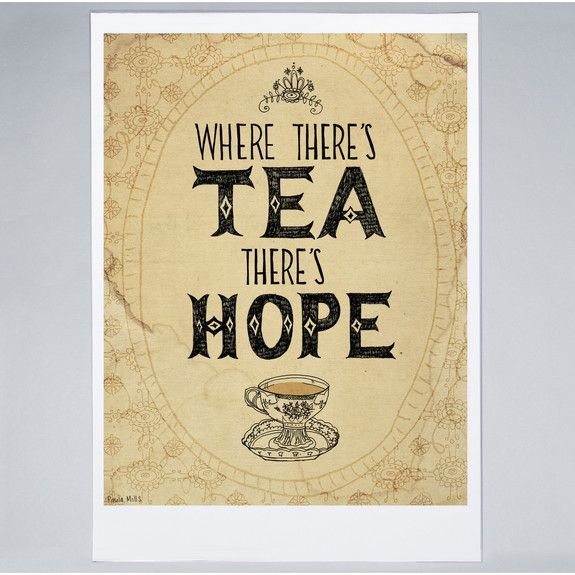 Sweet William - Tea & Hope - Print