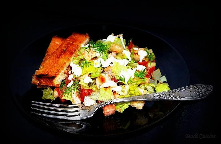 Reteta Salată Salad Chef cu pui la grătar - Salate