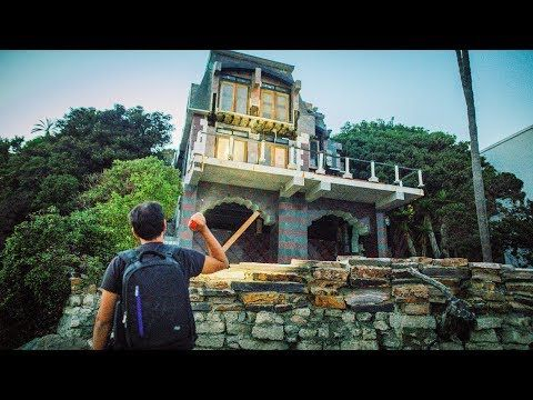 ABANDONED $9,000,000 BEACH MANSION (underground vault found) - YouTube