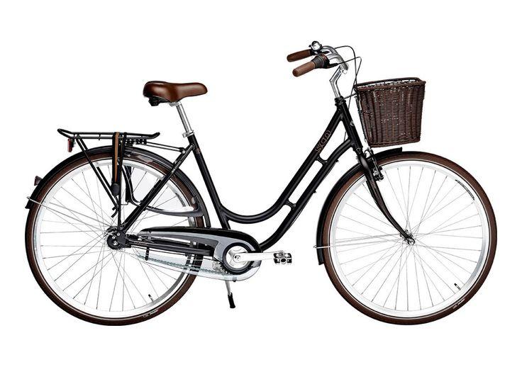 """SCO Classic damecykel 28"""" - stel 52 cm"""