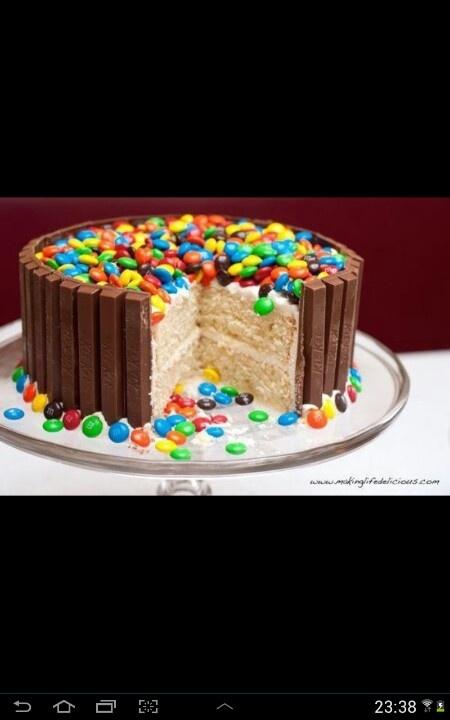 Kit-kat m taart