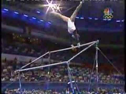 Jamie Dantzscher - 2000 Olympics Team Finals - Uneven Bars