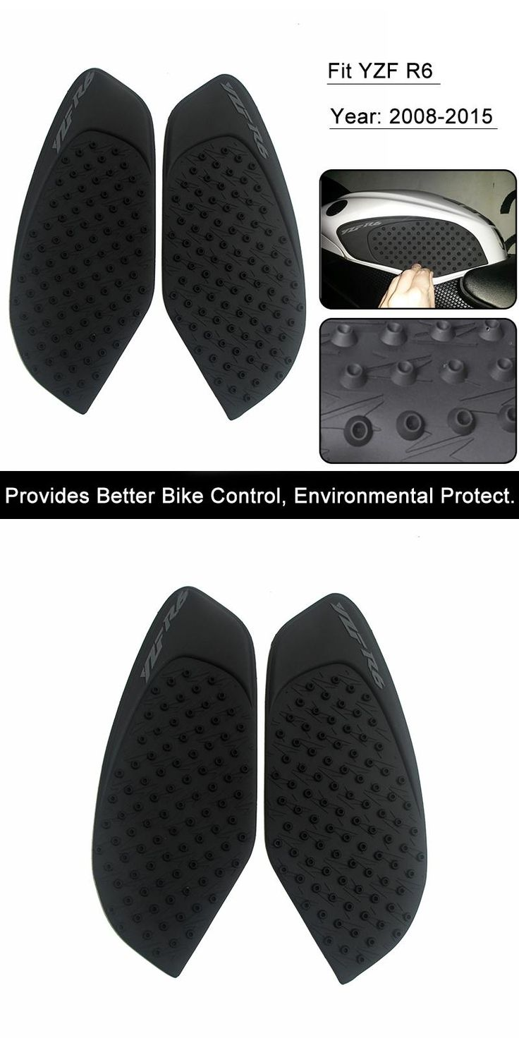 [Visit to Buy] For Yamaha R6 2008 2009 2010 11 12 13 14 15 Motorcycle Anti slip Tank Pad 3M Side Gas Knee Grip Traction Pads Protector Sticker #Advertisement