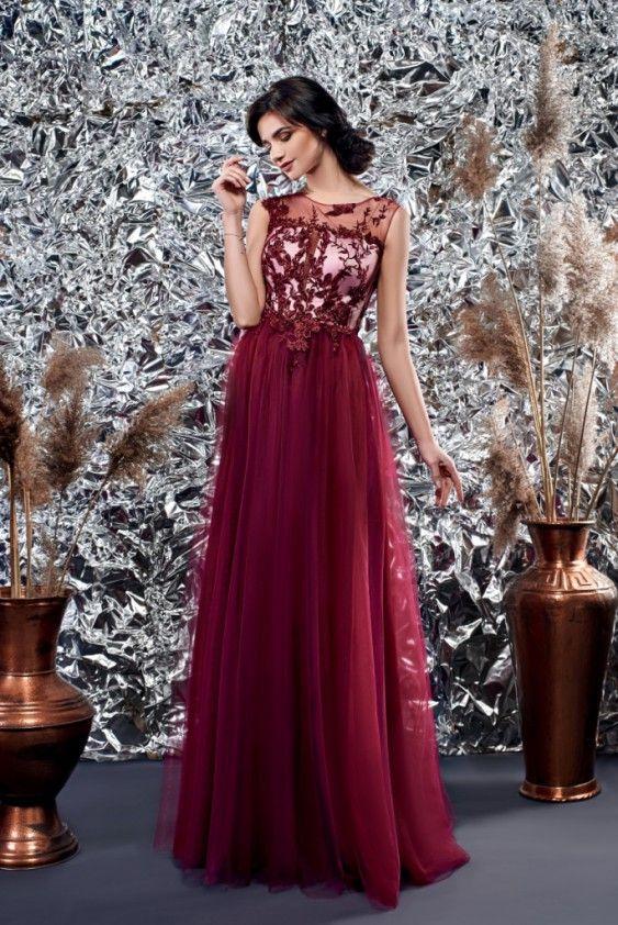 751be04839a82c Вечірня сукня на випускний кольору марсала | wedding у 2019 р ...