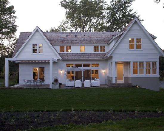 114 best new shingle style house images on pinterest for Modern shingle style