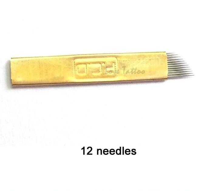 Permanent Eyebrow Makeup Manual Tattoo Bevel Blades 12 Needles For Microblding Pen Tattoo Needles Tatoo Needles Tattoo Needles Sizes From Bawanbian, $46.78| Dhgate.Com