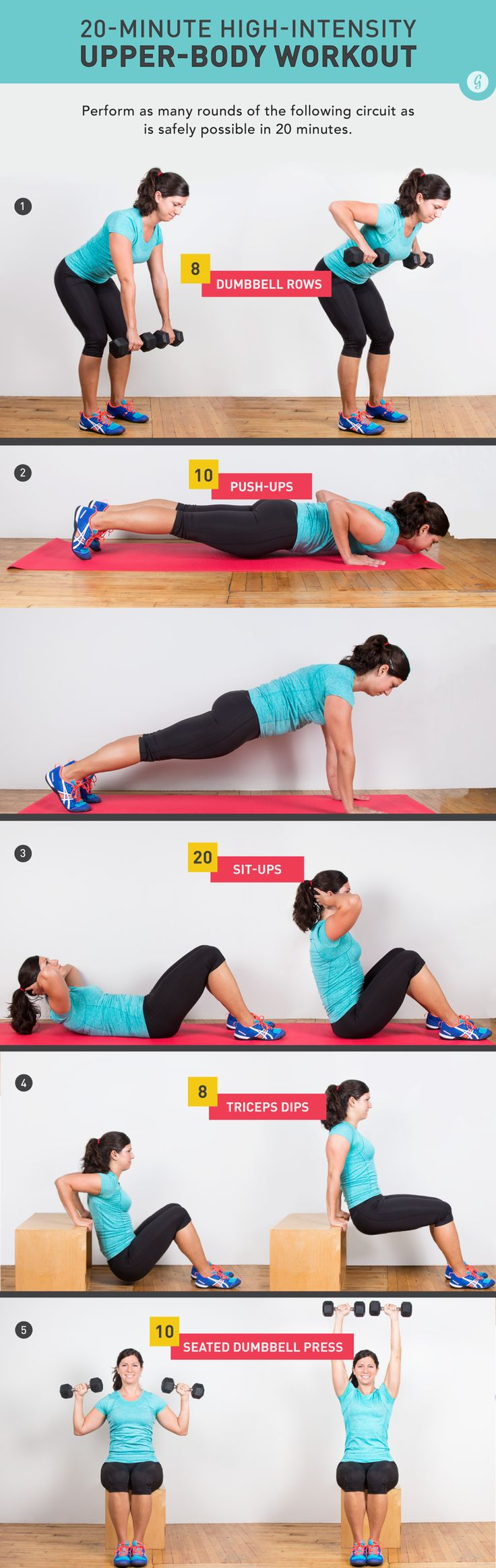 Pump Those Arms #upperbody #workout http://greatist.com/move/stay-fit-positive-while-injured