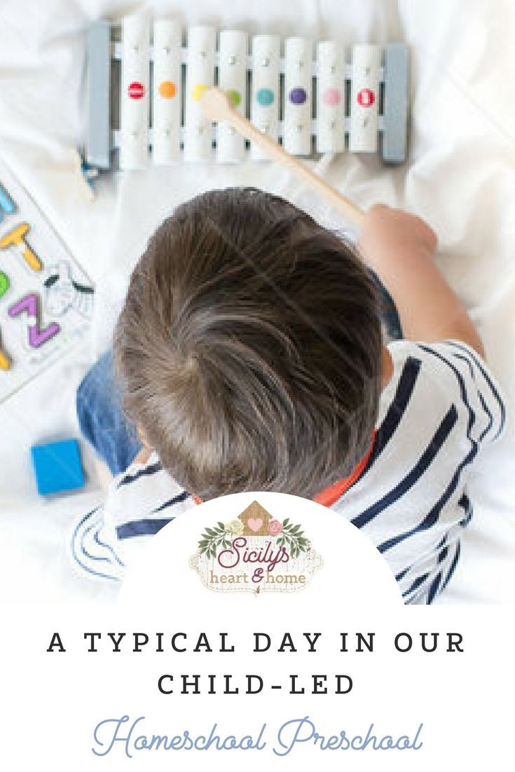 Typical homeschool preschool day with our child-led approach to learning. Find out how we fit in math, literacy, and playing. #playbasedlearning #homeschoolpreschool #preschoolathome #childledlearning #preschool