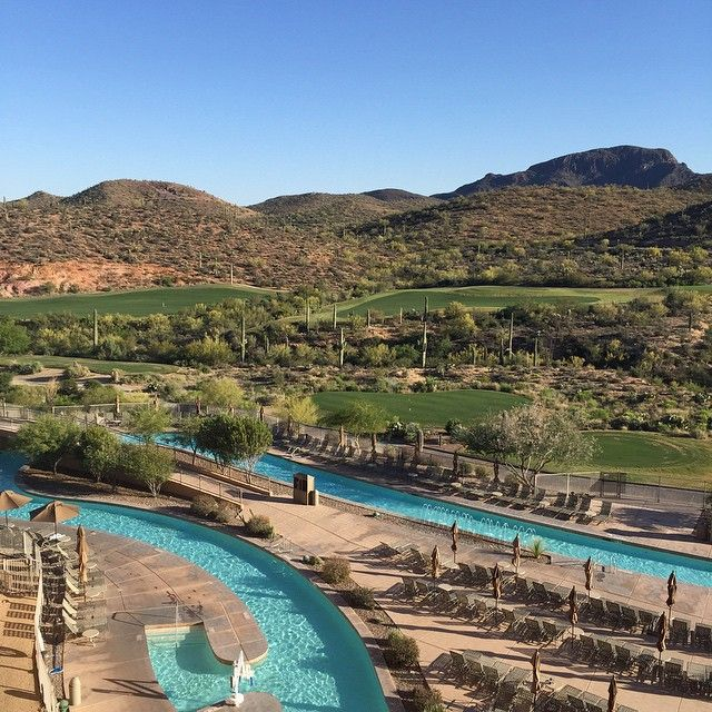 Jw Marriott Tucson Starr P Resort Spa The View Is Spectacular And Fun