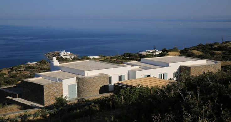 "Discover Villa ""Alati"", Sifnos, Greece ! You can rent it ! #luxury #villa #rent #holidays #greece #vacances #grece #alouer #aroomwithaview #sea #bedroom #decoration #swimmingpool #beautiful #sunset #luxuryvilla"