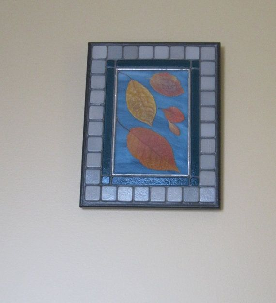 Autumn leaves:  Floating on the Breeze 2   Wall by RockinMosaics
