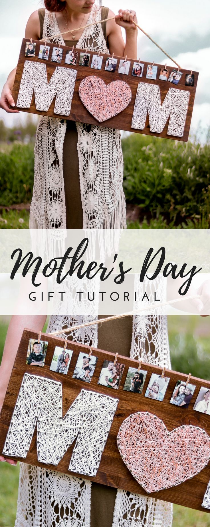 Homemade Mother's Day Gift-IDEA- DIY ROSE GOLD GIFT