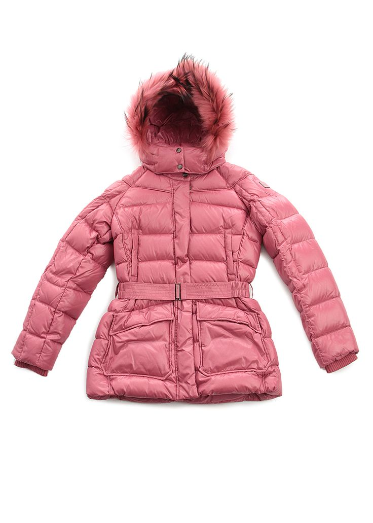 Pink junior quilted coat, ADD on www.piustyle.com