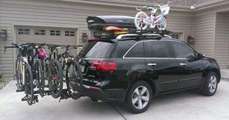 How to choose a hitch mounted bike rack.