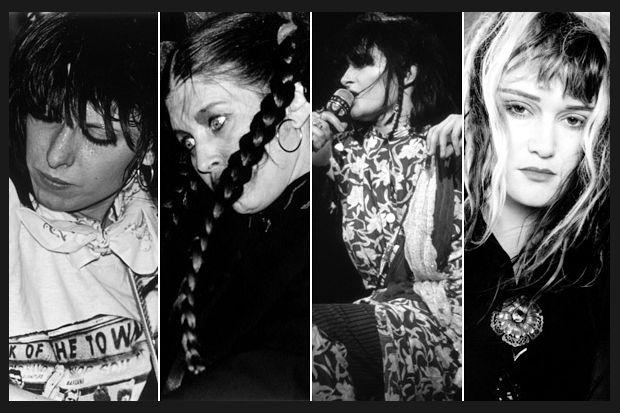 Grrrl Power. Chrissie Hynde. Lene Lovich, Siouxsie Sioux. Exene Cervenka.