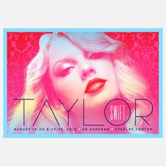 Taylor Swift Staples Center, $32, now featured on Fab.