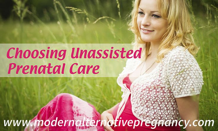 "It's important to understand that unassisted prenatal care is NOT the same thing as ""no prenatal care,"" as many assume. Instead, unassisted care is choosing to manage your pregnancy and your health on your own terms. Let's take a look at some examples of this:"