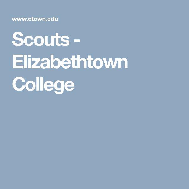 Scouts - Elizabethtown College